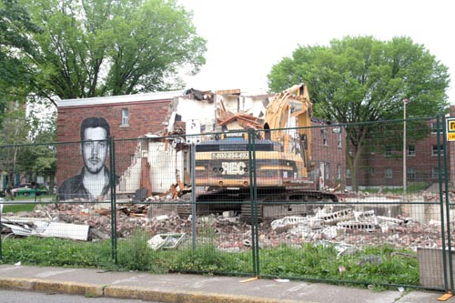 230 Sumach Street demolition