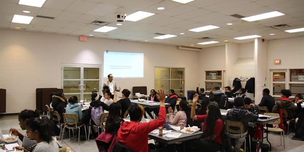 Photo: A crossview of participants at the Youth Financial Literacy Workshop.