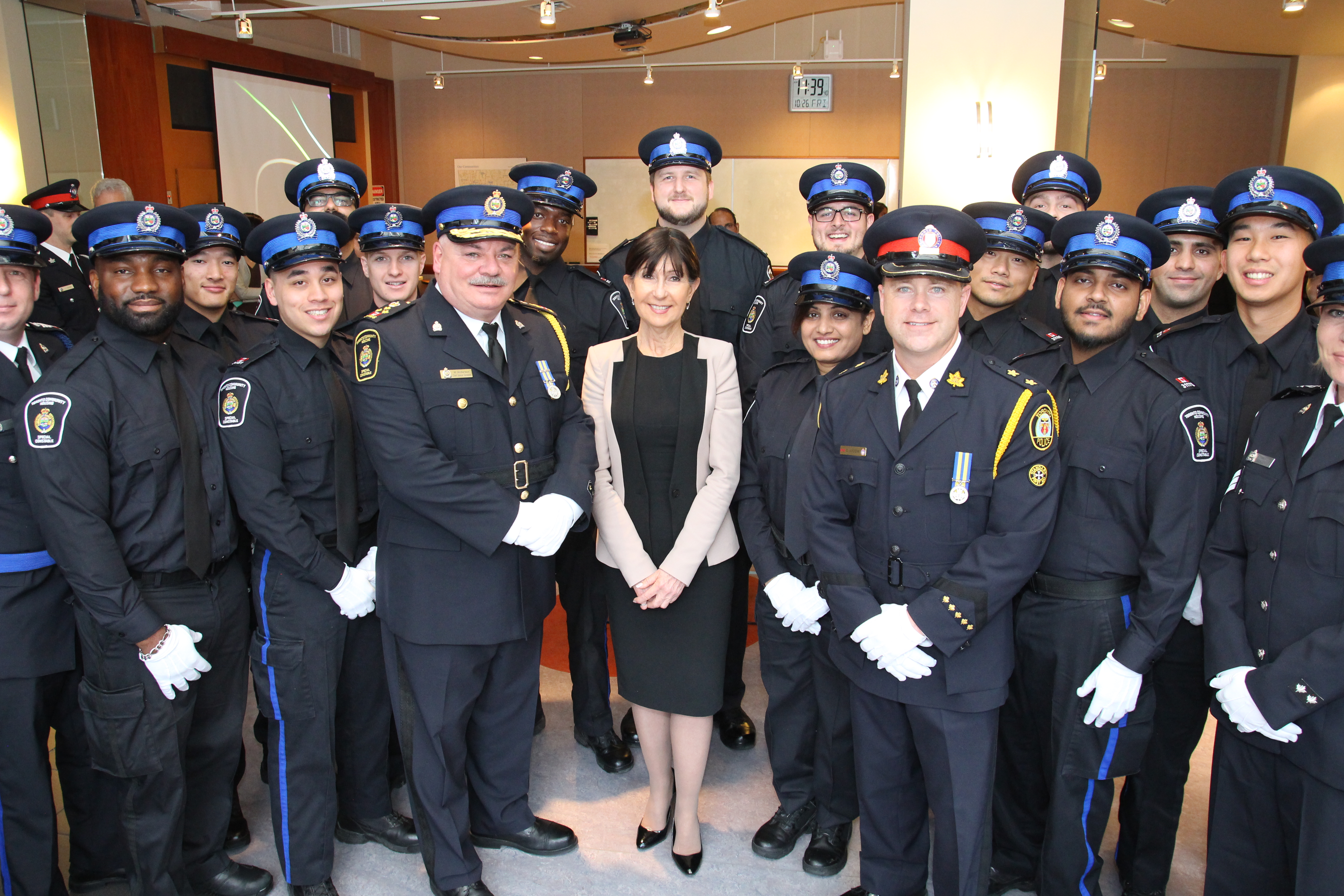 Toronto Community Housing Swearing In Ceremony Highlights Partnership With The Toronto Police Service