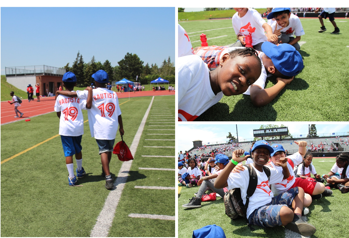 Rookie League kids form strong bonds and friendships with their teammates over the summer.
