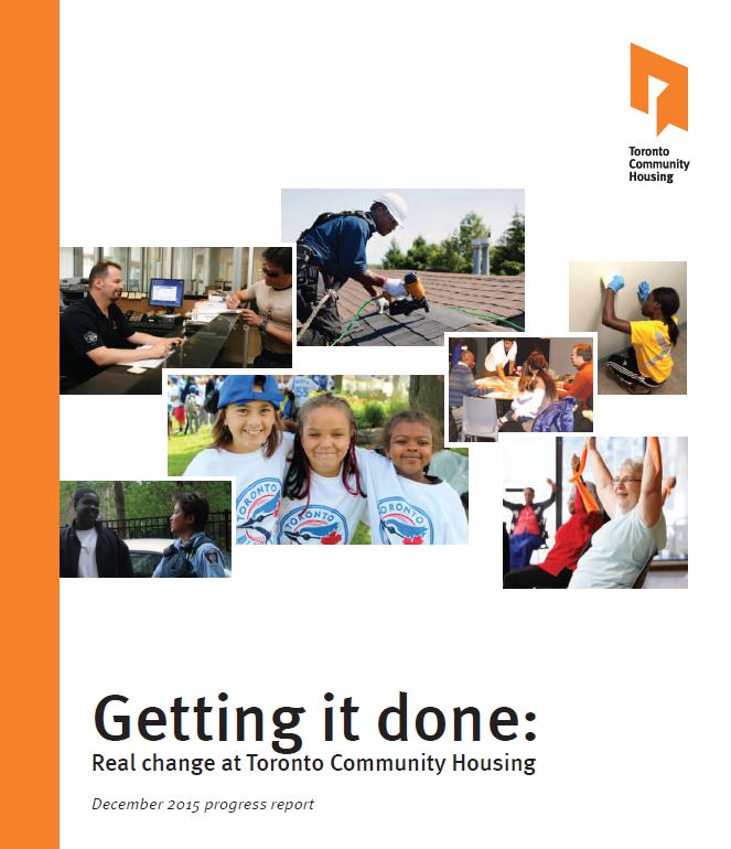 Getting it done progress report cover
