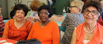 Residents celebrate seniors month
