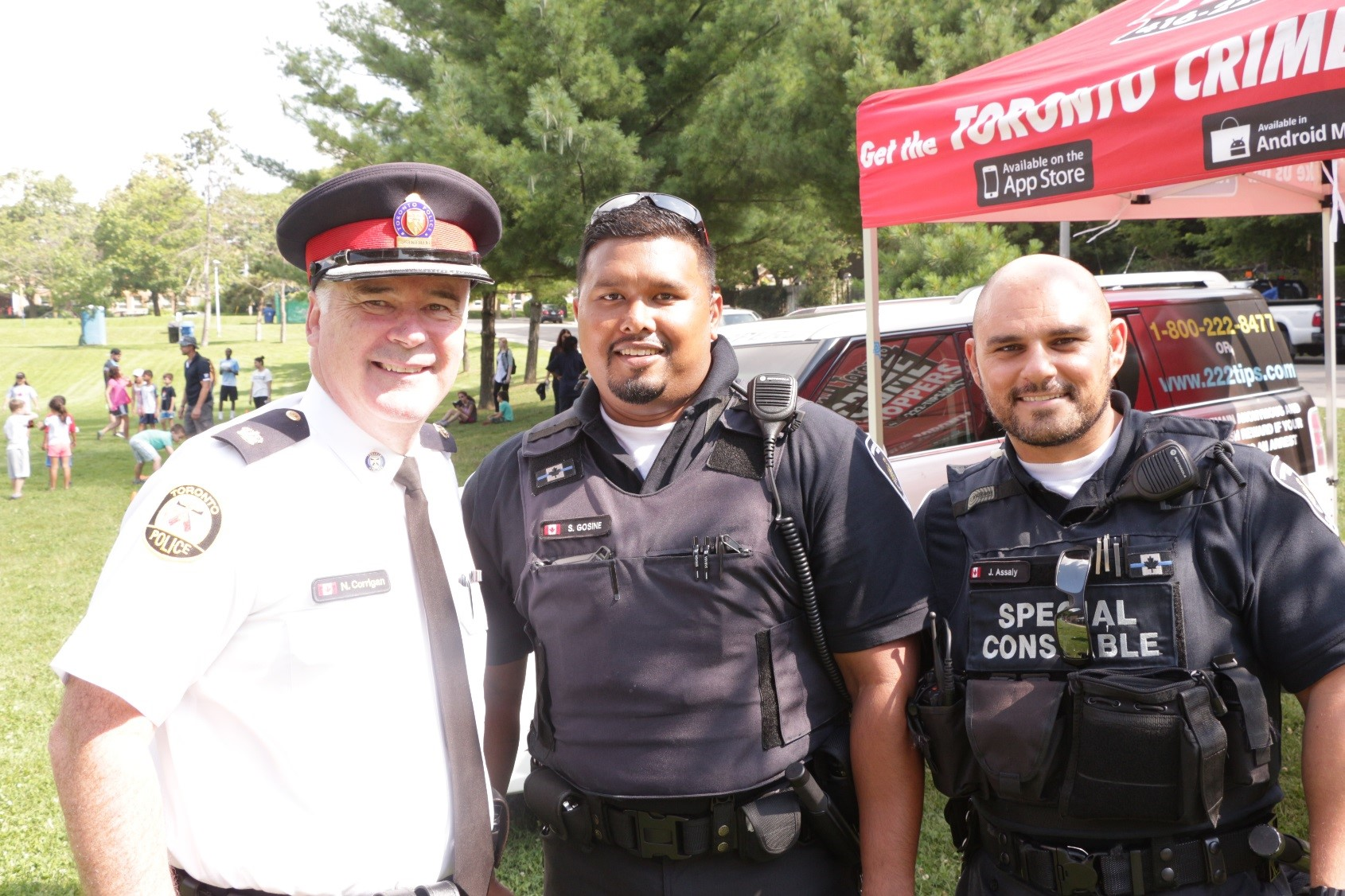 TPS Superintendent with Special Constables