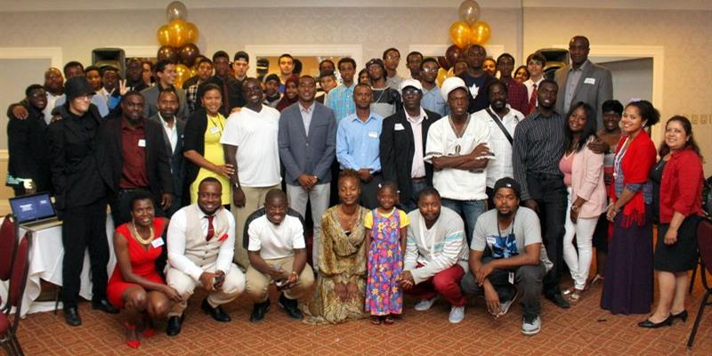 A group photo of Journeys to Success participants