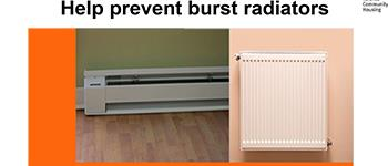 burst radiators